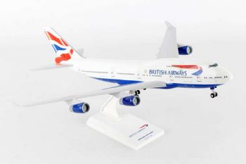Boeing 747-400 British Airways Resin Skymarks Model Scale 1:200 SKR304 G-CIVX   E